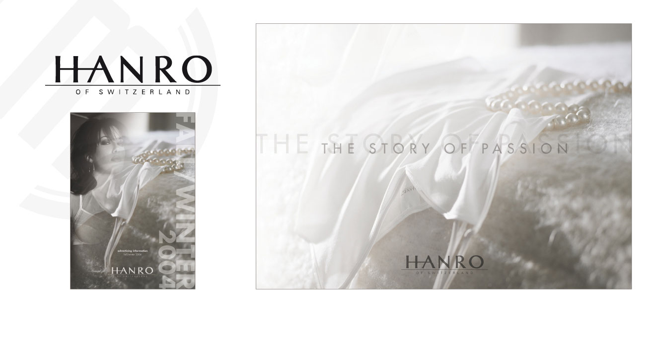 HANRO (CH) - Image Brochure | Trend Collection Fall/Winter 2004