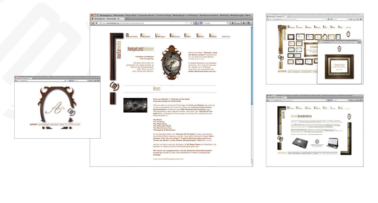 MARTEMEDIA - Website 2013 - 2017