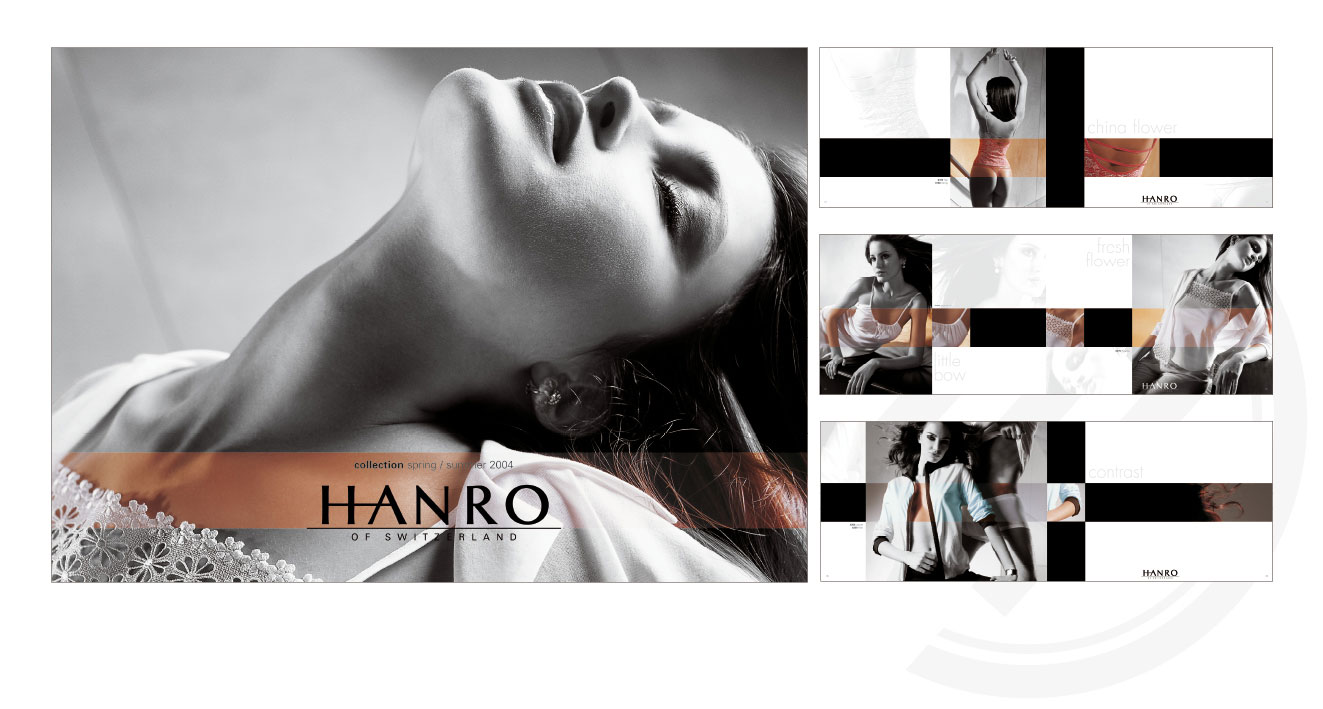 HANRO (CH) - Trend Collection Spring/Summer 2004