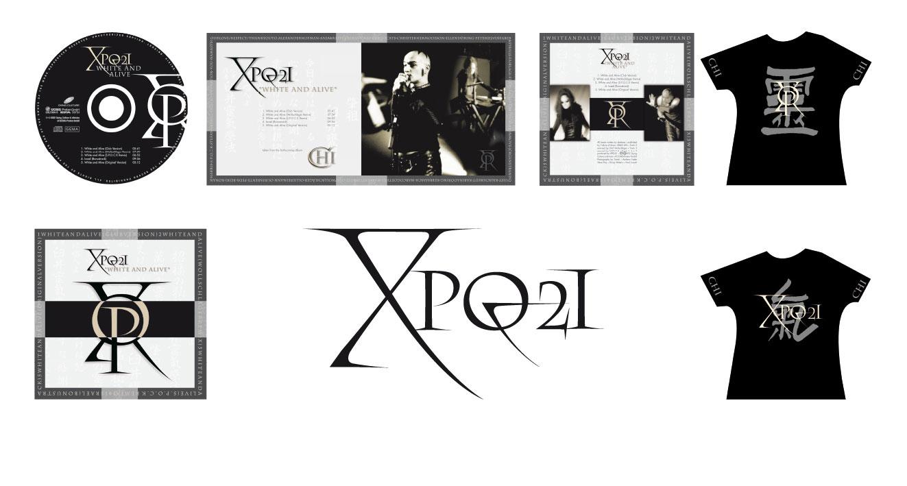 """XPQ-21 """"WHITE AND ALIVE"""" - Corporate Design"""