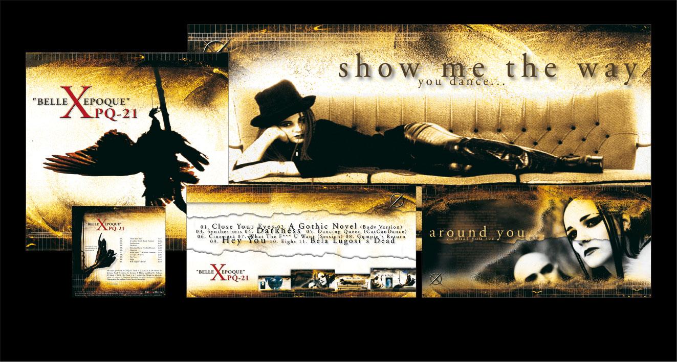 """XPQ-21 """"BELLE EPOQUE"""" - CD-Album"""