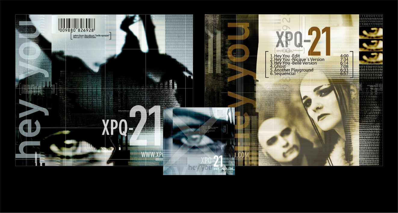 "XPQ-21 ""HEY YOU"" - Single CD"