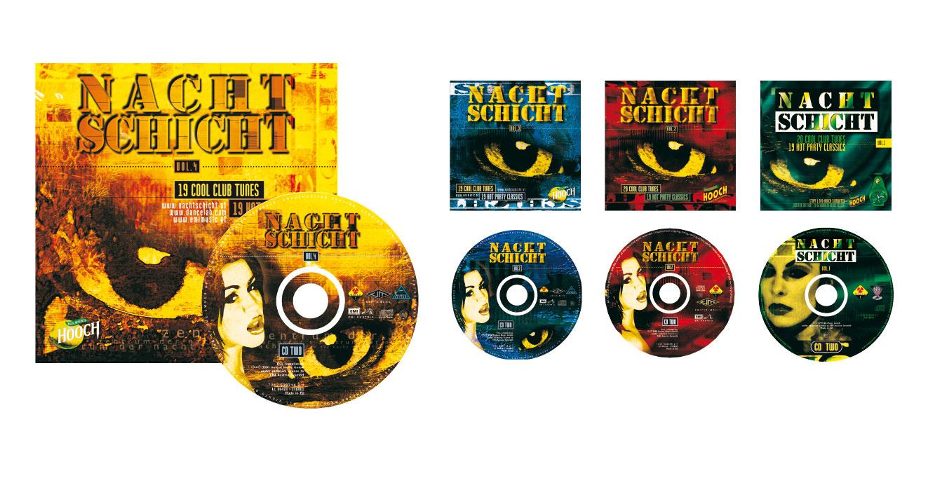 NACHTSCHICHT - Compilations (Dancelab/EMI)